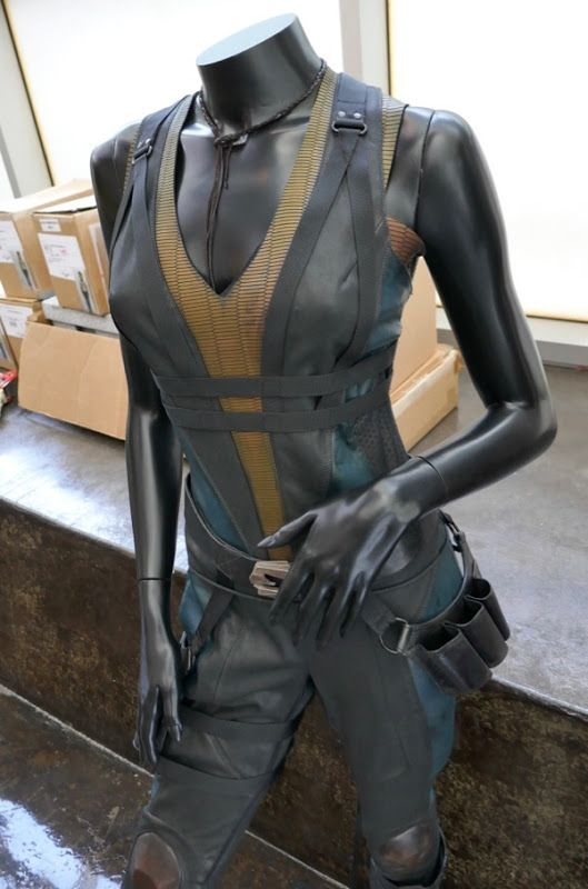 Deadpool 2 Domino Cosplay Costume Leather Full Suit Customize Any Size