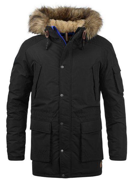Jack Jones Parka Jaakov Warme Jacke Mit Abnehmbarem Kunstfellkragen Online Kaufen Jacke Mit Kapuze Jacken Herren Winterparka