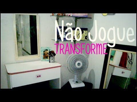 Transformando a cômoda em penteadeira #RafaPor10Dias