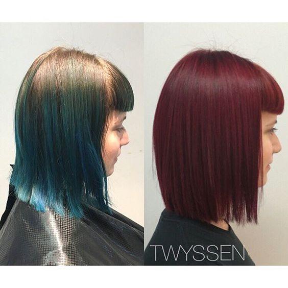 Had the amazing opportunity to give @florencia.heart cherry read hair today🍒 #hairbykalli #hair #hairjoi #hairlove #hairnerd #hairstylist #vancouver #vancouverhairstylist #vancouverhair #yvr #cherryred #redhair #change #newyearnewdo #joico #joicocolor #joicocanada #Otf #otfmain #onthefringe #mainstreet #lovemyjob #passion #internationalstylist #colortrak #colortraksoc