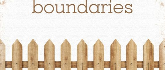 My latest post. Setting Boundaries. Not as easy as you think. www.carenschmidt.com