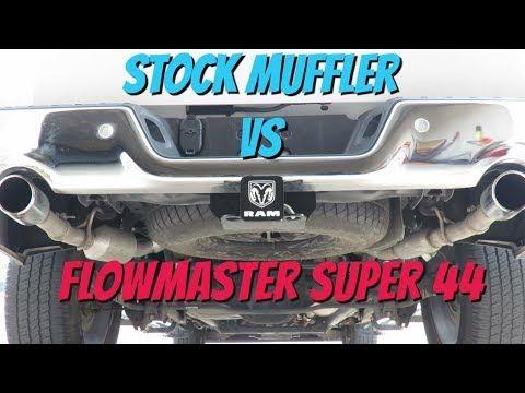 Latest Dodge Ram Flowmaster Super44 Vs Stock Ram 1500 5 7l Hemi 67761 Wallace Ks Dec 2018 In This Video I Give You A Comparis Dodge Ram Ram 1500 Hemi