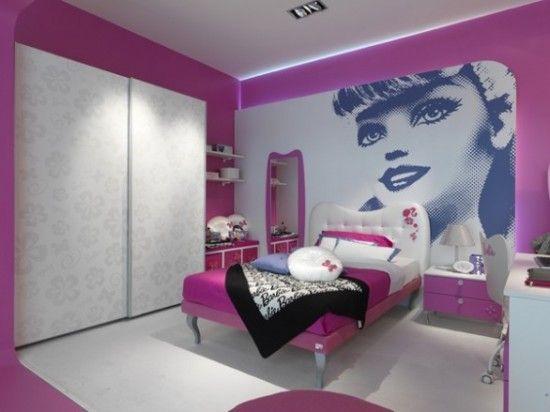 Pink Barbie Room