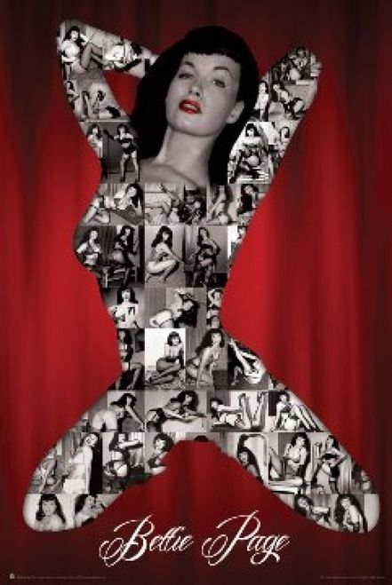 Bettie Page S&M Poster Print (24 x 36) - Item # SCO3235
