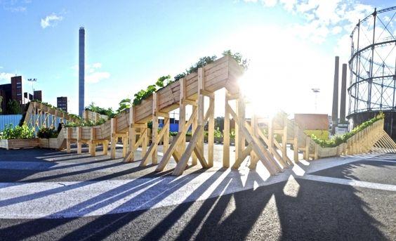Helsinki Plant Tram: un Jardín Móvil para la capital Finlandesa