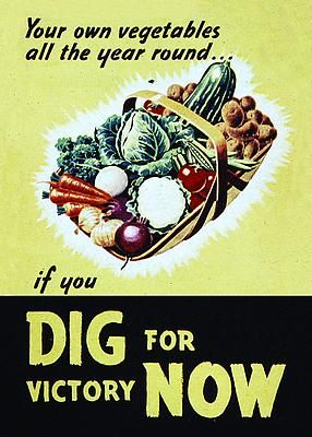 Victory gardens, important now, too.