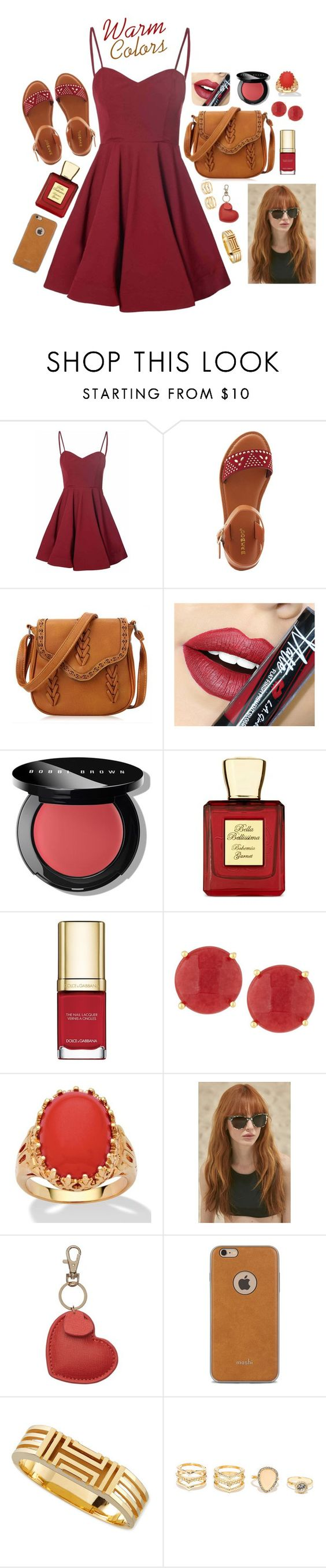 """""""Untitled #109"""" by bella9o ❤ liked on Polyvore featuring Glamorous, Bamboo, Fiebiger, Bobbi Brown Cosmetics, Bella Bellissima, Dolce&Gabbana, Panacea, Palm Beach Jewelry, Prism and Moshi"""