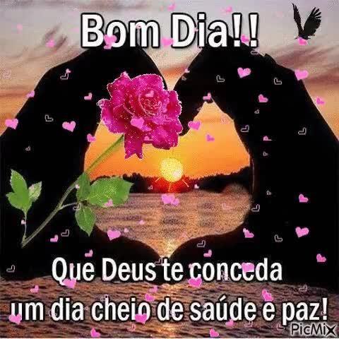 Bom Dia Que Deus Te Conceda Um Dia Cheio De Saude E Paz