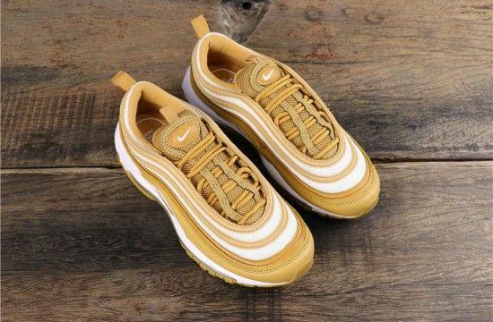 Nike Wmns Air Max 97 Wheatwheat club Gold 921733 702