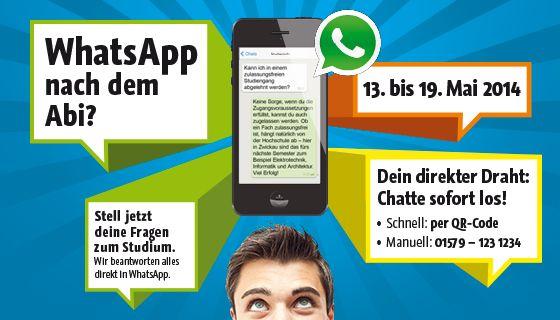 """#WhatsApp nach dem Abi: """"Studieren in Fernost"""" als innovative Hochschul-Marketing-Kampagne."""