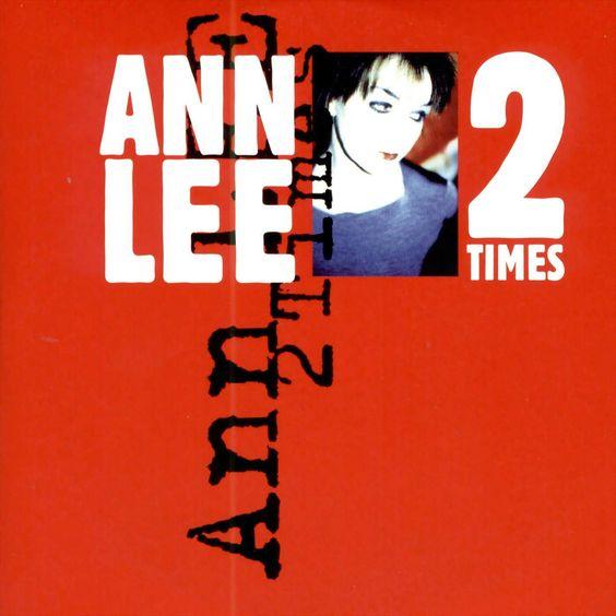 Ann Lee – 2 Times (single cover art)
