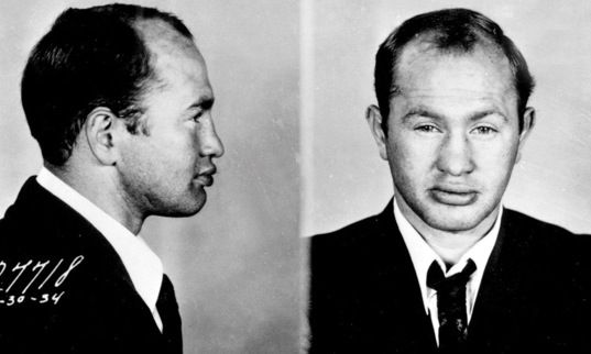"Sam Davis aka ""The Gorilla.""  He was a Purple gang enforcer and mentally unstable. He was sent to the Iona State Reformatory for the Criminally Insane in the late 1930's. He escaped and vanished. Historians assume he was killed by his fellow gangsters who thought he may talk to the authorities.   From: Detroit's Infamous Purple Gang by Paul R. Kavieff:"