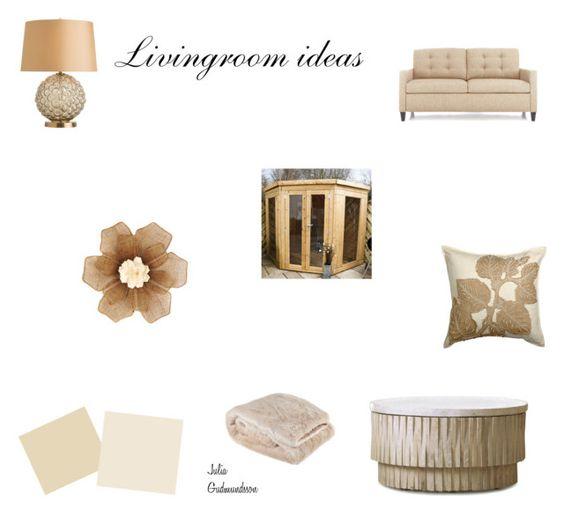 """Livingroom Ideas"" by julia-gudmundsson ❤ liked on Polyvore featuring interior, interiors, interior design, home, home decor, interior decorating, Crate and Barrel, Arteriors, Zara Home and Ethan Allen"
