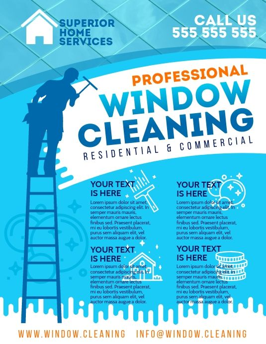 Window Cleaning Flyer Cleaning Service Flyer Window Cleaner Cleaning Flyers