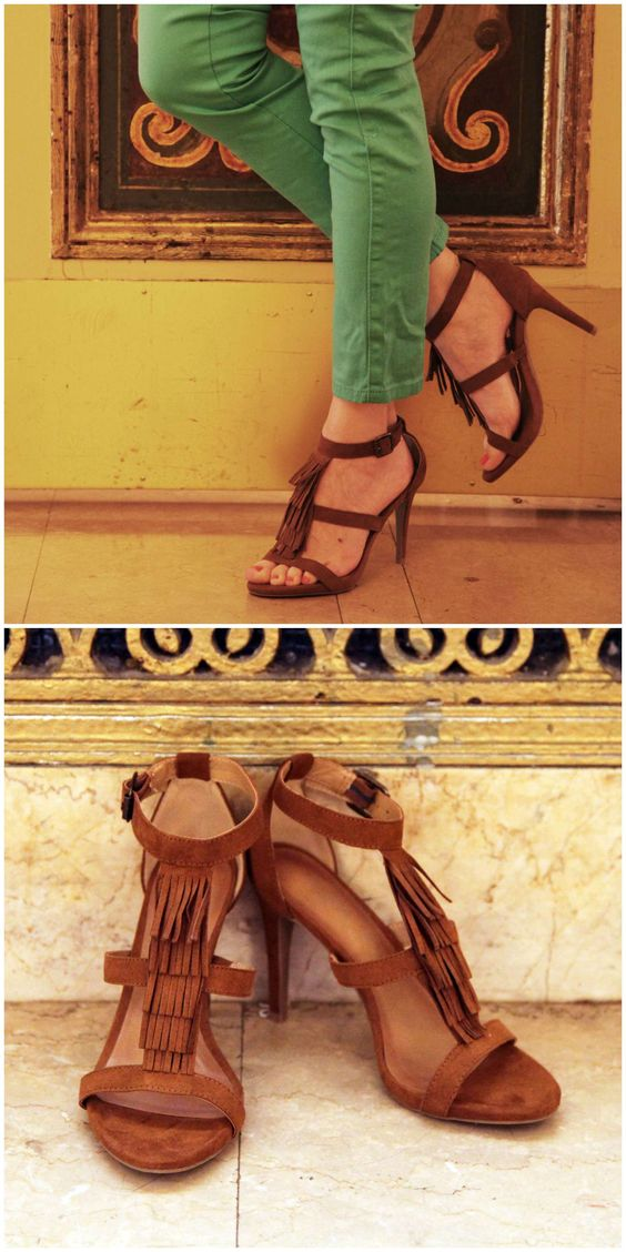 christian louboutin fringe-accented pumps