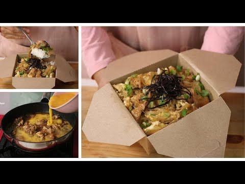 Laris Jualan Telur Dan Ayam Dimasak Ala Ala Jepang Resep Oyakodon Youtube Makanan Dan Minuman Makanan Telur