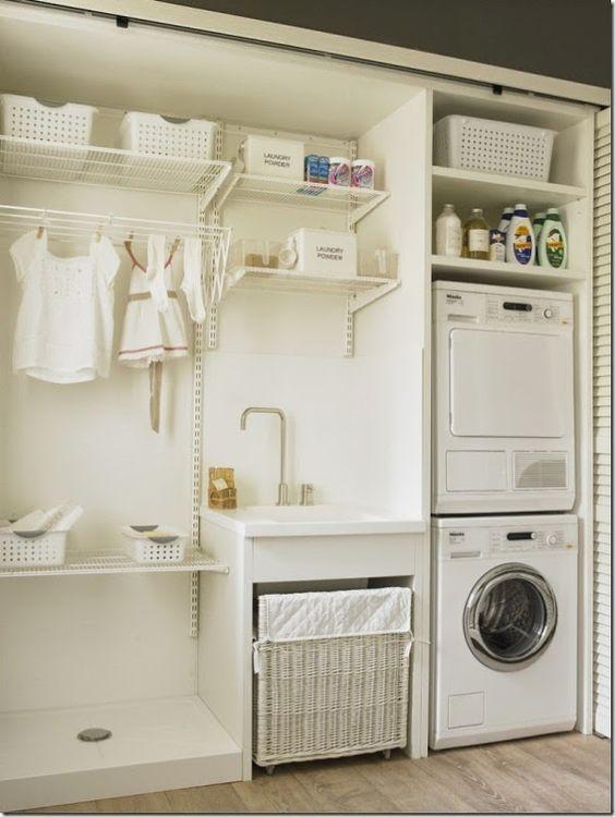 3 pasos para organizar un cuarto de lavado y plancha for Cuarto lavanderia