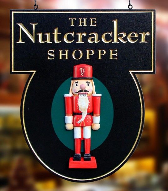The Nutcracker Shoppe Sign | Danthonia Designs