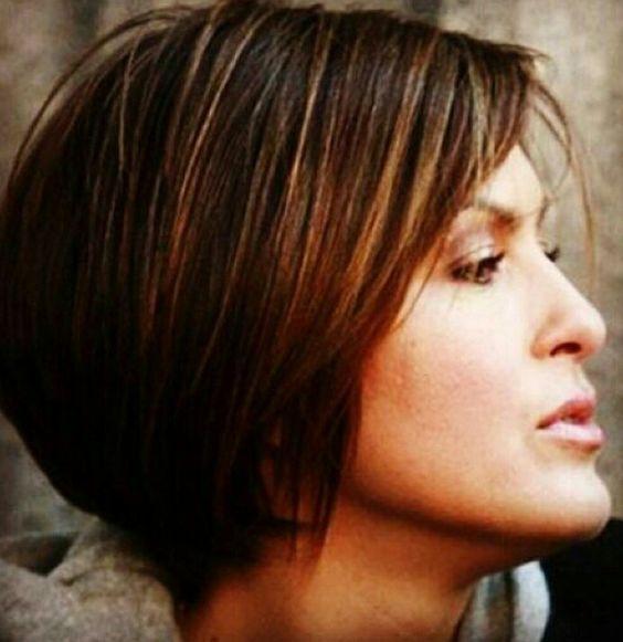 Mariska Hargitay With Short Hair Cute Law And Order Svu