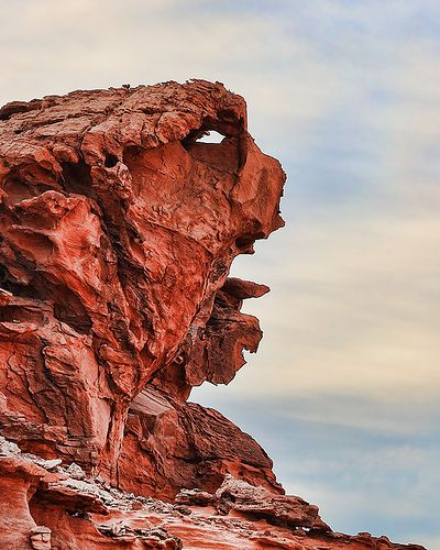Face-in-the-rocks