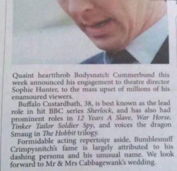 Buffalo...Custardbath?