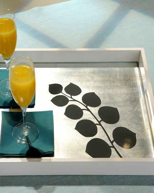 Leaf me serve u: Diy Serving Trays, Diy Ideas, Diy Crafts, Diy Project, Craft Ideas, Hostess Gift