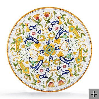Pisa Hand-painted Dining Tabletop