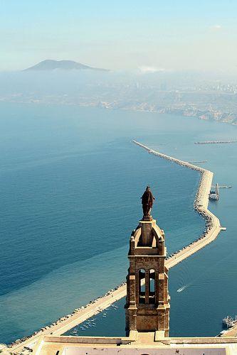 Vue du mont Santa Cruz . Oran -Algérie - | Voyages ...