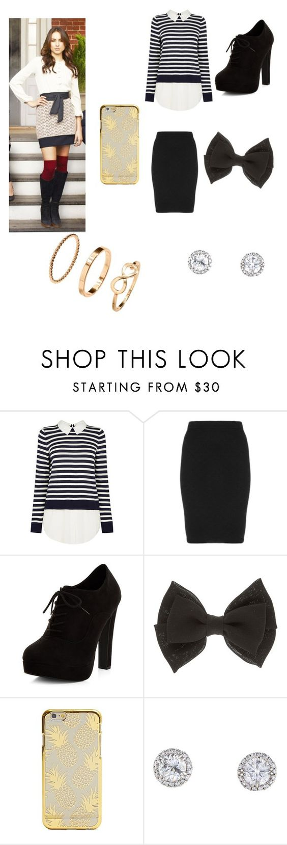 """Spencer"" by sarahgale98 ❤ liked on Polyvore featuring Manon Baptiste and New Look"