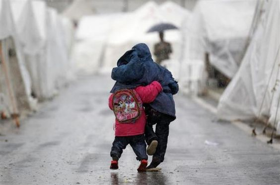 When we help shield others from rainy weather... we in turn are rewarded.