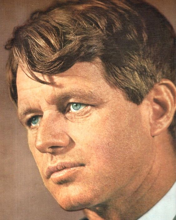 """United States Attorney General Mr~~Robert Francis Kennedy (November 20, 1925 – June 6, 1968), commonly known as """"Bobby"""" or by his initials RFK, was an American politician from Massachusetts. He served as a Senator for New York from 1965 until his assassination in 1968. He was previously the 64th U.S. Attorney General from 1961 to 1964, serving under his older brother, President John F. Kennedy. ♡❤❤❤♡❤♡❤❤❤♡ http://en.wikipedia.org/wiki/Robert_F._Kennedy"""