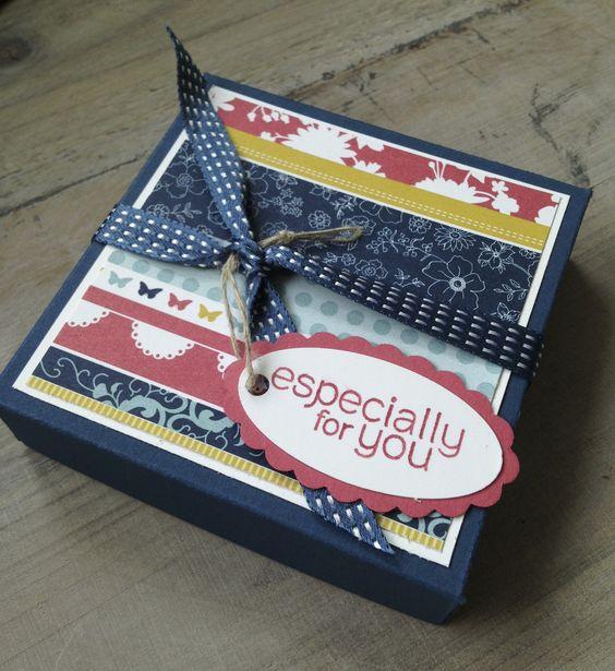 Schachtel für Minikarten