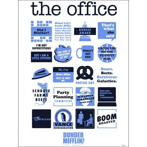 Posters For The Office Energy Saving The Office Quote Mashup Poster Nbc Store The Office Wall Art Gifts Poste Office Wall Art Funny Dating Quotes Wall Art Gift