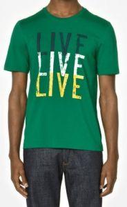 Camiseta Lacoste Verde LA1066
