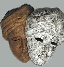 how to make a paper mache mask mold
