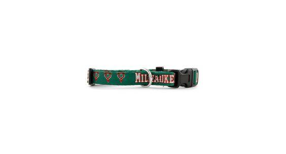 Hunter Manufacturing Milwaukee Bucks Dog Collar