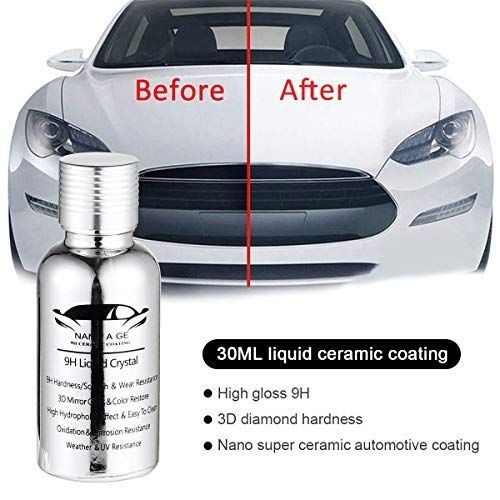 Mogoi 9h Super Ceramic Car Coating Hydrophobic 3d Diamond Hardness Nano Premium Car Care Kit High Gloss Paint Protection Car Liquid Ceramic Coating Car Kit Car Coating Car Care Kit Premium