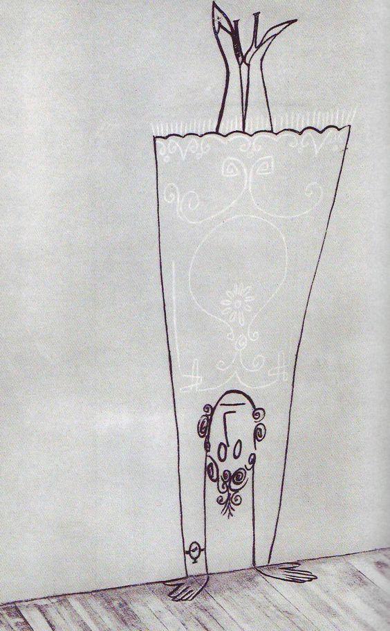 :D handstand Saul Steinberg