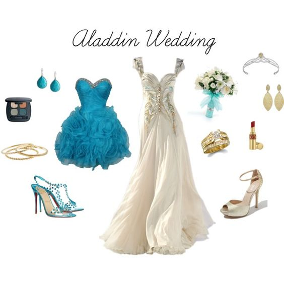 Disney Themed Wedding Dresses: Aladdin Wedding, Aladdin And Polyvore Dress On Pinterest