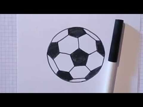 How To Draw A Soccer Ball Step By Step Soccer Ball Soccer Ball