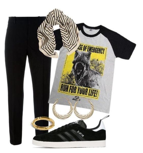 """""""Untitled #513"""" by spejlvendt ❤ liked on Polyvore featuring Marni and adidas Originals"""