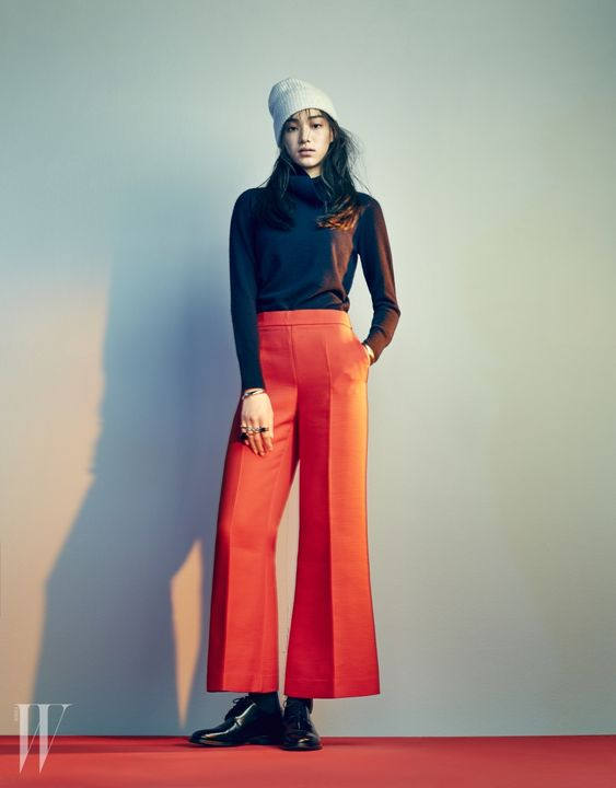 Kim Seol Hee by Km Do Won for W Korea Dec 2015