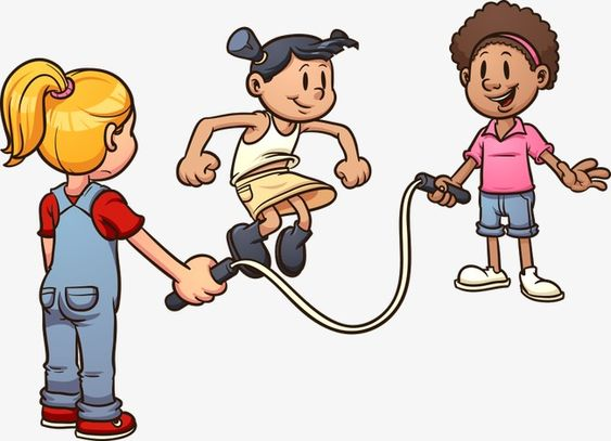 Child Rope Skipping Cartoon Child Cartoon Child Vector Child Skipping Vector Child Vector Cartoon Kids Clip Art Children