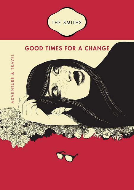 new smiths posters, via poppytalk