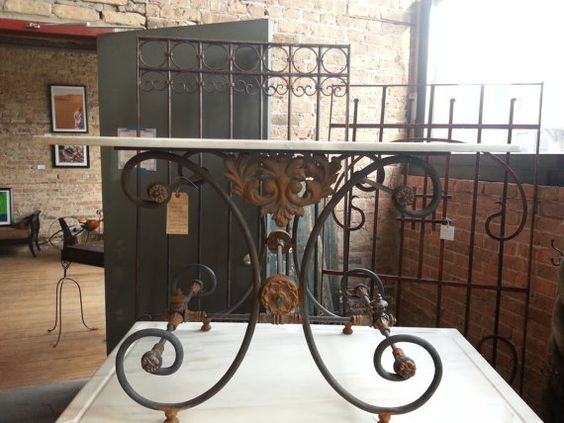Hey, I found this really awesome Etsy listing at https://www.etsy.com/listing/183165174/french-country-iron-and-marble