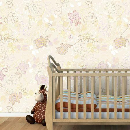 Papel de parede adesivo Baby - StickDecor | Decoração Criativa