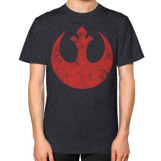 Rebel Alliance Logo Unisex T-Shirt (on man)