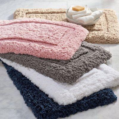 Cozy Memory Foam Bath Rug Dogwood Pink 21 X 34 Grandin Road