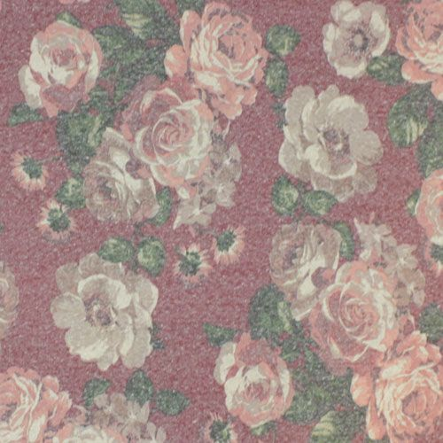 Vintage Antique Roses On Red Cotton Jersey Tri Blend Knit Fabric Lovely Vintage Look Antiqued Roses In Co Antique Roses Indie Sewing Patterns Tropical Fabric