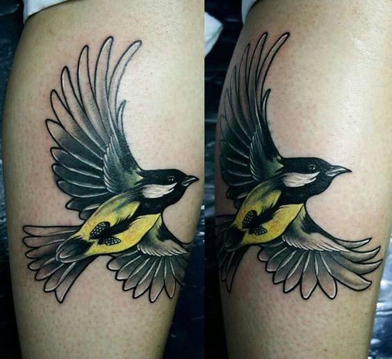 Flying Bird by hueso